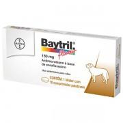 BAYTRIL 150MG CAIXA COM 10 COMPRIMIDOS PALATÁVEIS