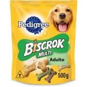 Biscoito Pedigree Biscrok Multi para Cães Adultos 500GR