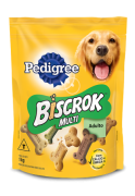 Biscoito Pedigree Biscrok Multi para Cães Adultos de Raças Pequenas  1KG