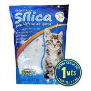 Combo 03 Areia Sanitária Silica Grossa Para Gatos 1,7kg