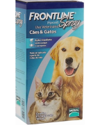 ANTIPULGAS E CARRAPATOS FRONTLINE CÃES E GATOS SPRAY 100ML