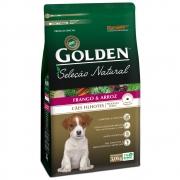 Ração para Cachorro Filhote Raças Mini Golden Seleção Natural Frango e Arroz 3KG