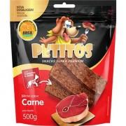 Kit 10 Unidades Bifinho Petitos Carne 500GR
