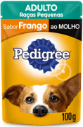 KIT PROMO LEVE 11 E PAGUE 10  SACHE PEDIGREE R. P. FRANGO 100GR