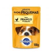 KIT PROMO LEVE 11 E PAGUE 10  SACHE PEDIGREE R. P. FRANGO 100GR