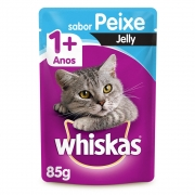 KIT PROMO LEVE 11 E PAGUE 10  SACHE WHISKAS PEIXE JELLY 85GR