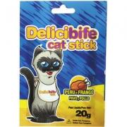 Petisco Delicibife Cat Stick Peru e Frango 20gr