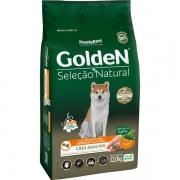Ração para Cães Adultos Golden Seleção Natural Abóbora 12KG