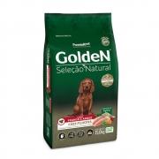 Ração Golden Seleção Natural Cães Filhotes Frango e Arroz 15KG