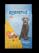 Ração Robustus Todo Dia  para Cães Adultos Sabor Carne e Frango em Embalagem 15kg - Sem Corantes e 21%