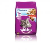 Ração Whiskas para Gatos Adultos Castrados Carne 10KG
