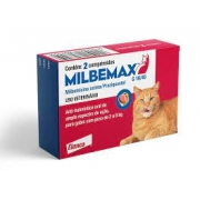 Vermifugo Milbemax Para Gatos 2 A 8 Kg - 2 Comprimidos