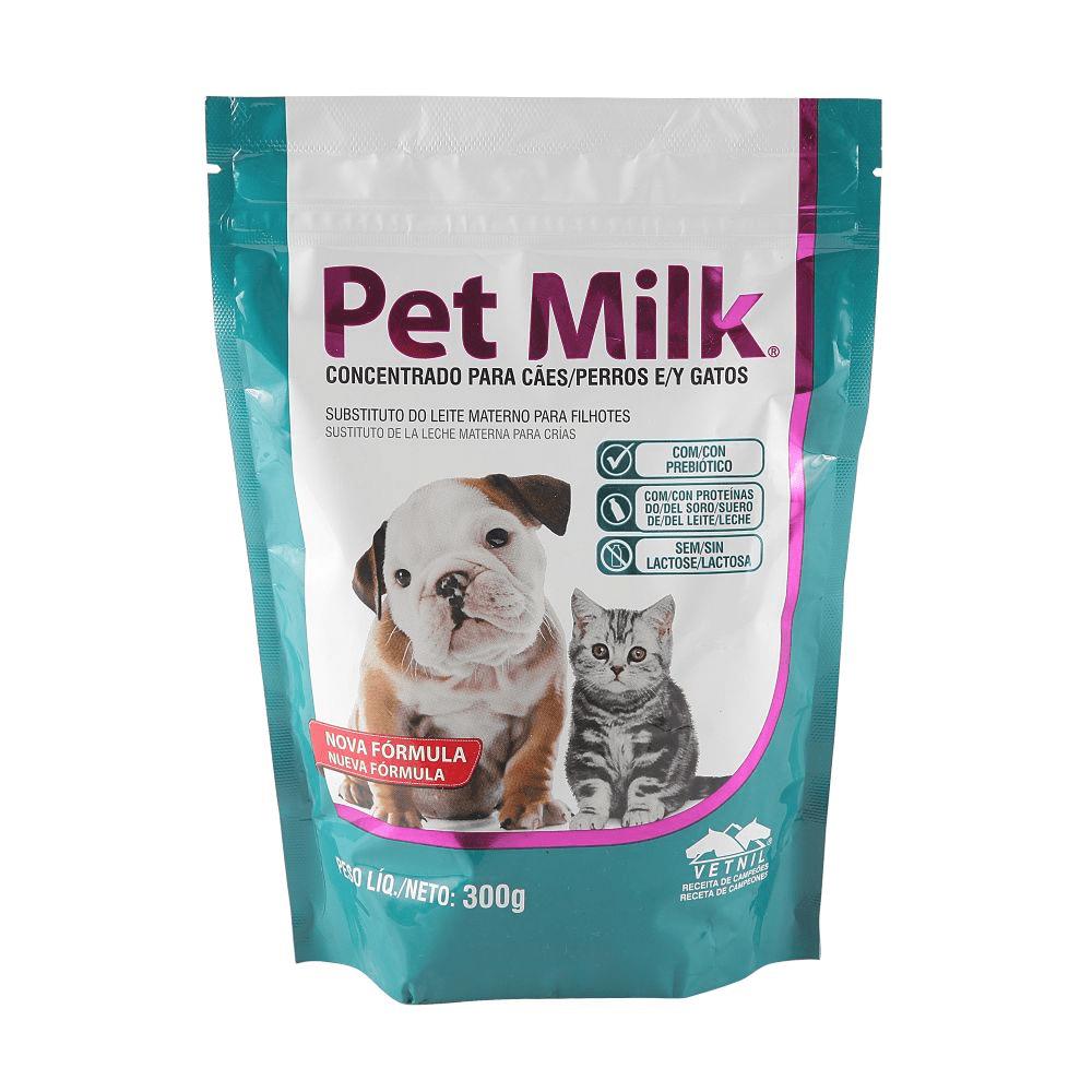 ALimento Substitutivo do Leite Pet Milk 300Gr