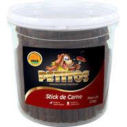 Bifinho Palito 2,5kg De Carne Stick Petitos Petisco Caes