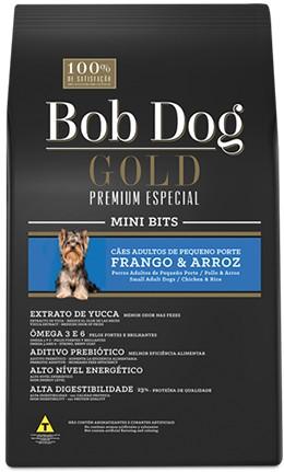 BOB DOG GOLD PREMIUM AD. RAÇAS PEQUENAS 15KG