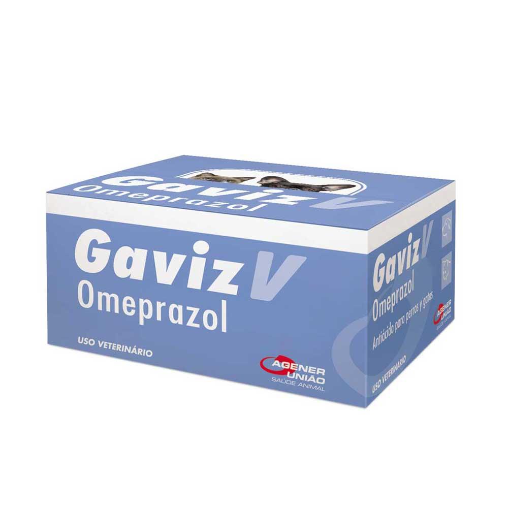 GAVIZ V OMEPRAZOL AGENER 10MG CARTELA AVULSA COM 10 COMPRIMIDOS + BULA