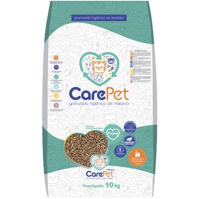Granulado Higiênico de Madeira CarePet Premium Original