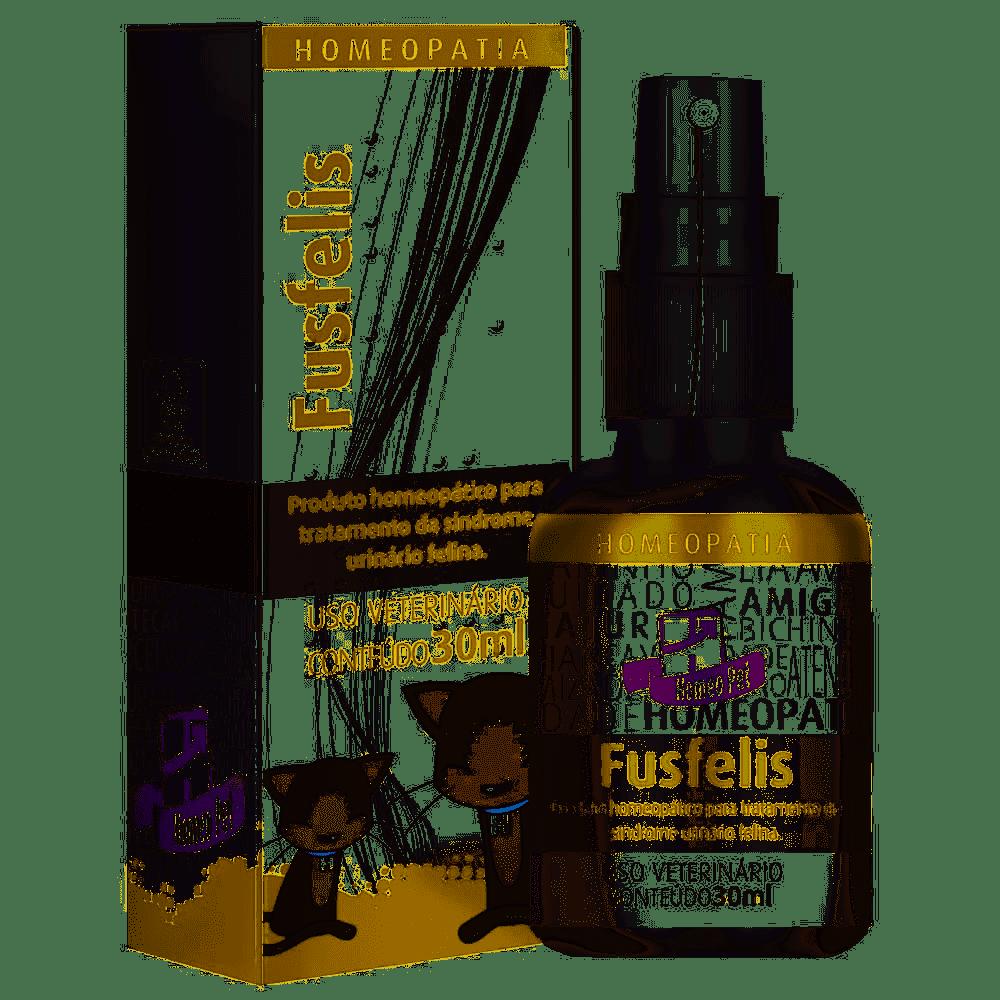HOMEOPET FUSFELIS FRASCO COM 30ML