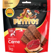 KIT 3 BIFINHO PETITOS CARNE 1KG