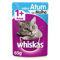 KIT PROMO LEVE 11 E PAGUE 10  SACHE WHISKAS ATUM 85GR