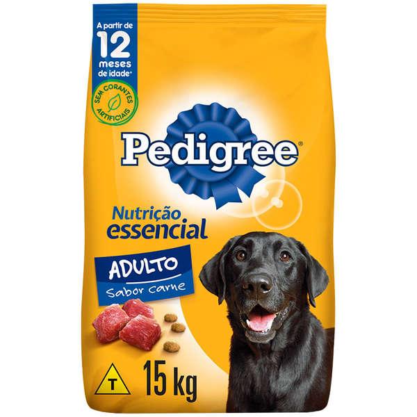 RAÇÃO PEDIGREE NUTRIÇÃO ESSENCIAL ADULTO 15KG