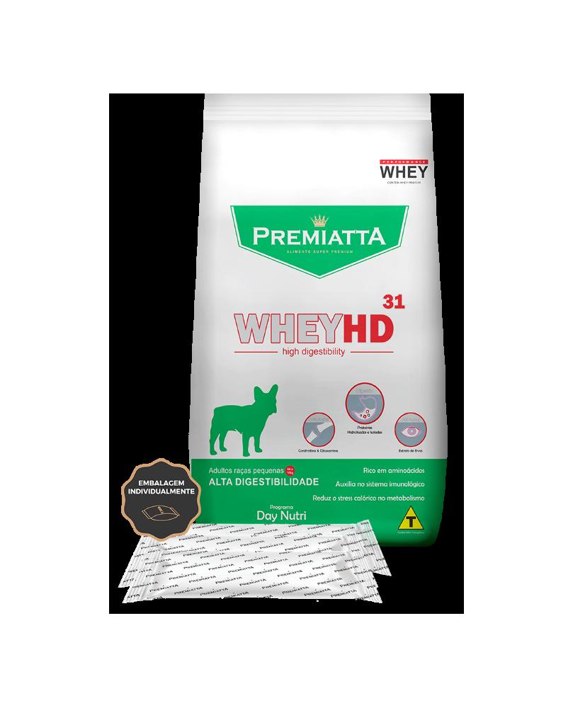 Ração Premiatta Whey HD para Cães Adultos Raças Pequenas 3 Kg