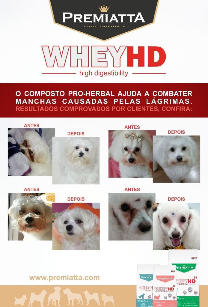 Ração Premiatta Whey HD para Cães Adultos Raças Pequenas 6kg