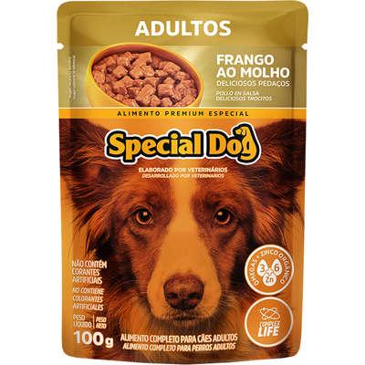Ração Úmida Special Dog Sachê Frango para Cães Adultos 100gr