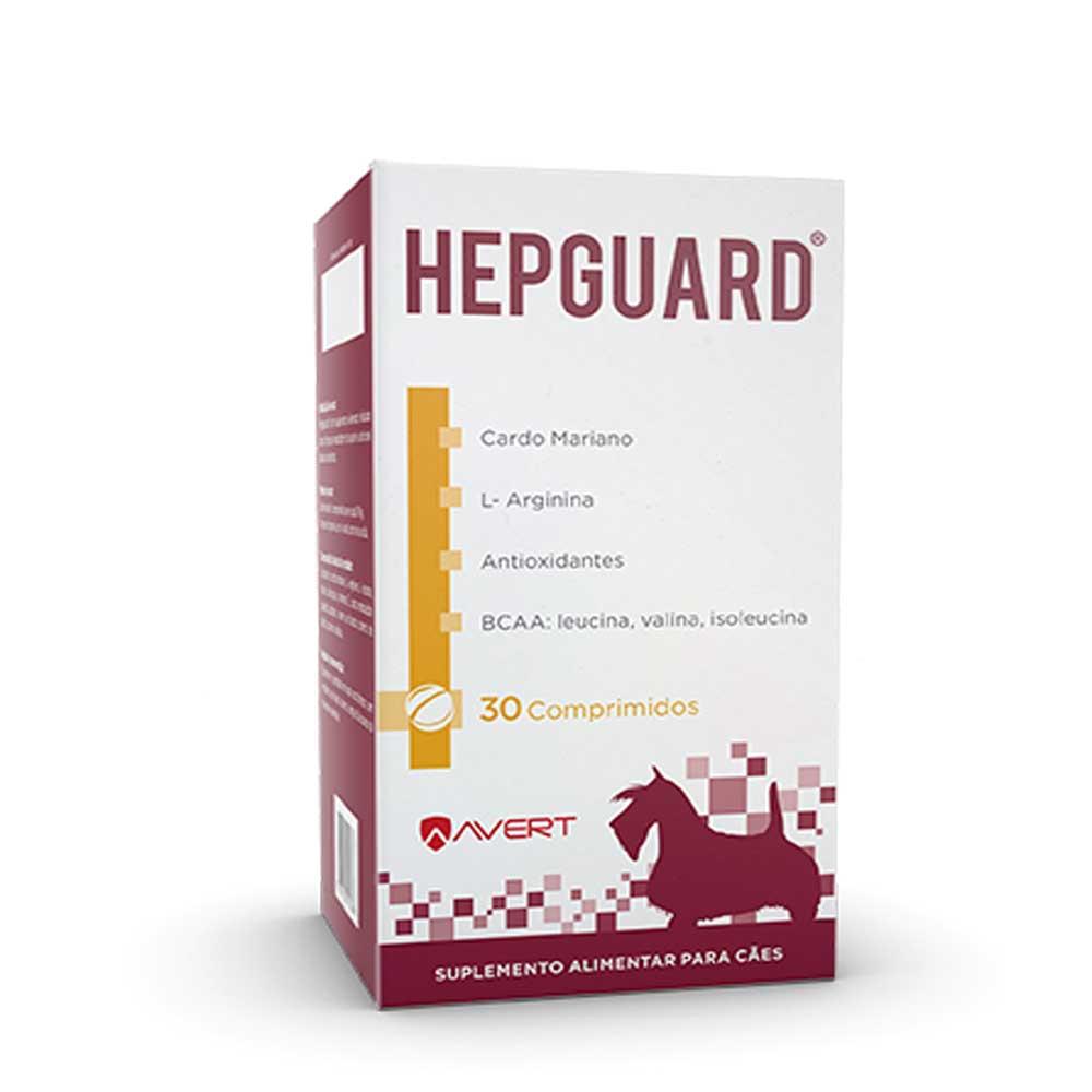 SUPLEMENTO HEPGUARD AVERT CAIXA 30 COMPRIMIDOS