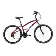 Bicicleta Aro 26 Feminina Caloi 400 Comfort 21v - Vinho