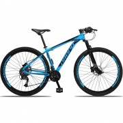 Bicicleta Aro 29 Dropp 27v Freio Hidráulico  - Azul / Preto