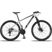 Bicicleta Aro 29 Dropp Z3 21v Shimano Freio a Disco -  Branco / Preto