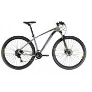 Bicicleta Aro 29 MTB Oggi Big Wheel 7.0 18v 2021 - Cinza / Verde