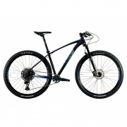Bicicleta Aro 29 MTB Oggi Big Wheel 7.6 SRAM GX 12v 2021 - Preto / Azul / Grafite