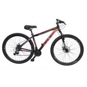 Bicicleta Aro 29 MTB Passeio TYT Guerreiro Shimano 21v - Vermelho