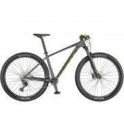 Bicicleta Mtb Aro 29 Scott Scale 980 Deore 12v 2021 - Cinza / Amarelo