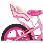 Cadeirinha Bike Para Boneca Branca E Rosa Para Bicicleta Disponível para desconto