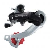 Câmbio Traseiro Bike Shimano Tourney TZ400 6, 7v Sem Gancheira