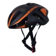 Capacete Bicicleta Ciclismo Tsw Team Plus - Preto / Laranja