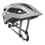 Capacete Bike Ciclismo Mtb Scott Supra - Prata / Cinza