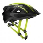 Capacete Bike Ciclismo Mtb Scott Supra - Preto / Amarelo