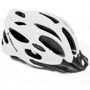 Capacete Ciclismo Bike Absolute Nero c/ Led Branco Fosco
