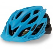 Capacete Ciclismo Bike Absolute Wild Led - Azul / Preto