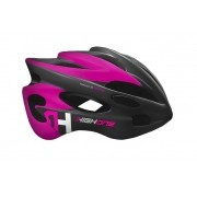 Capacete Ciclismo MTB High One Volcano New c/ Led  - Rosa