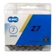 Corrente Bicicleta Indexada 6, 7, 8v 18v 21v 24v - Kmc Z7