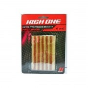 Kit de Reparo High One para Pneu Tubeless de Bicicleta 5 unid.