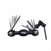 Kit Ferramentas Canivete Bike MTB C/ Chave Corrente Wg 10f