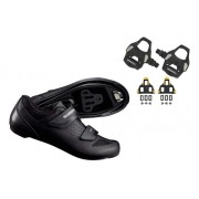 Kit Sapatilha Shimano Speed Road Rp1 Rp100 + Pedal Pd-rs500