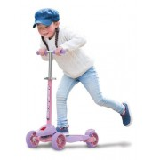 Patinete Infantil Bandeirante Skatenet Plus Slime Lilás 1511