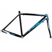 Quadro Bicicleta Tsw Speed Aro 700 Tr-20 C/ Garfo - Azul